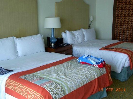 فندق اتلانتس ذا بالم: Main Room with two Double beds