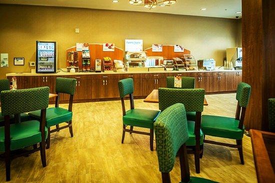 هوليداي إن إكسبرس آند سويتس سولت ليك سيتي ساوث - موراي: Breakfast Bar