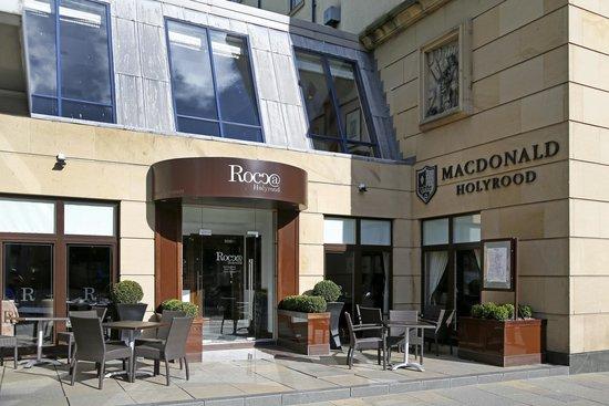 Macdonald Holyrood Hotel: Rocca Exterior