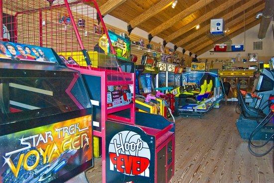 Frontier Town RV Resort & Campground: On-Site Pony Island Arcade