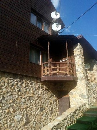 Zgarda Hotel: Balcony