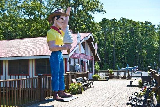 Frontier Town RV Resort & Campground: On-Site Pony Espresso & Creamery