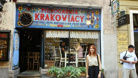 Pierogarnia Krakowiacy: restaurant front