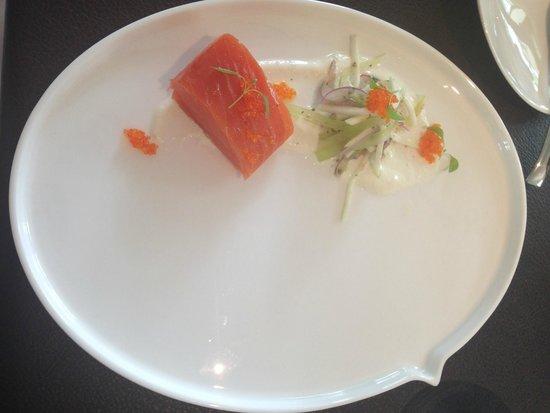 Corner House: Salmon as a starter