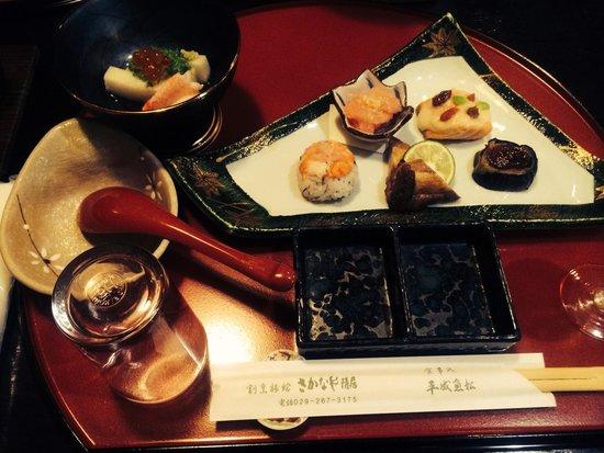Sakanaya Inkyo: 夕食