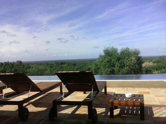 Serenada Enoturismo : Vista para a piscina