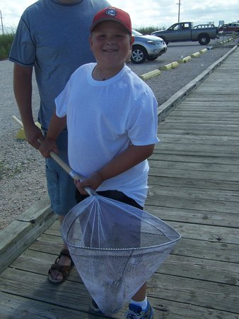 Creole Nature Trail: Great CAtch!