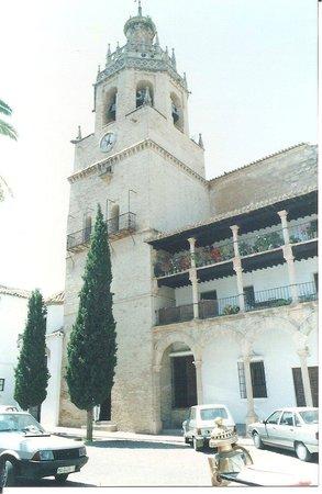 روندا, إسبانيا: The church in Ronda, Spain