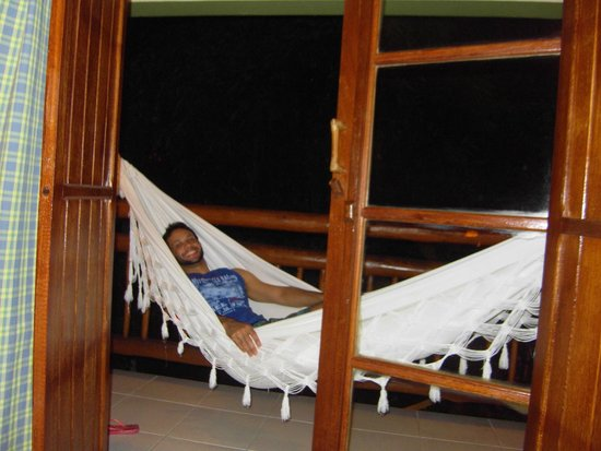 Hotel Pousada Refugio da Vila: varanda do quarto