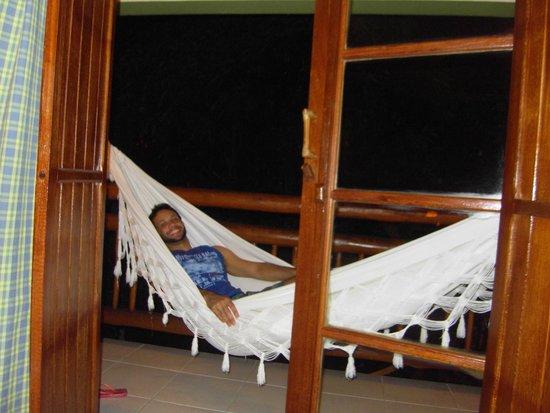 Refugio da Vila: varanda do quarto