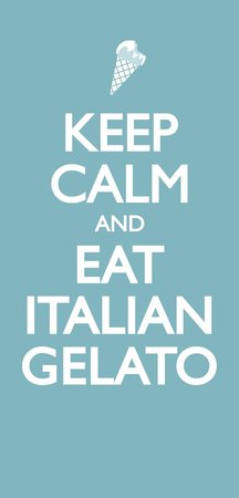 Gelateria Salaria Gelato d' Autore: Keep calm