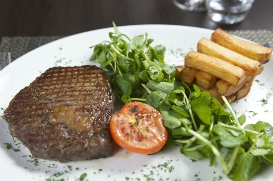 Macdonald Holyrood Hotel: Steak