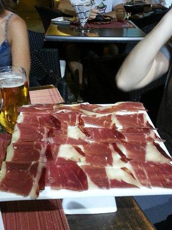 Restaurante Cinco Jotas: Jamon 5 jotas