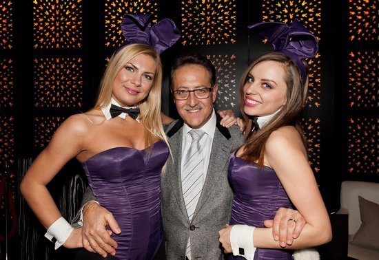 Salvatore's Bar at Playboy Club London: Salvatore Calabrese and the Bunnies