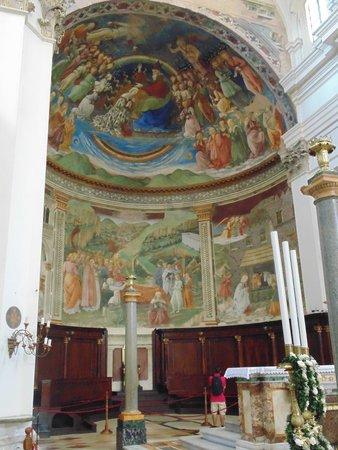 Duomo di Spoleto: AFFRESCHI DI FILIPPO LIPPI (Abside)