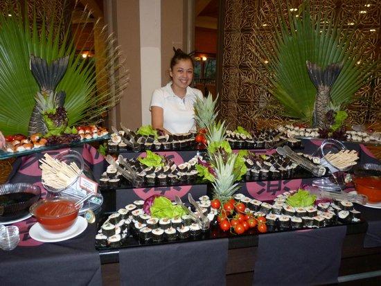 فندق تي تي هوتلز مارماريس إمبيريال: Ce soir sushi!