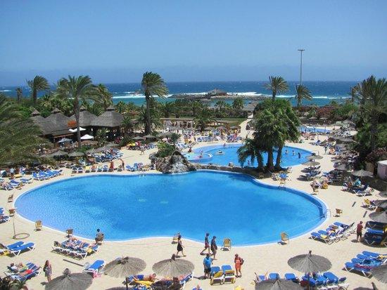 Elba Carlota Beach and Convention Resort: Вид из номер люкс