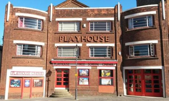 Playhouse Cinema Louth: front of the cinema