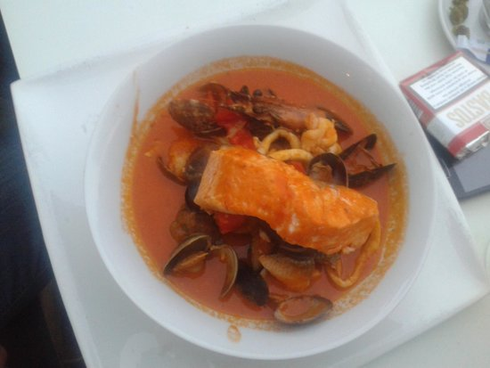 Brasserie IL Capriani: toscaanse vissoep