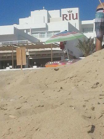 ريو لا مولا: struttura dalla spiaggia
