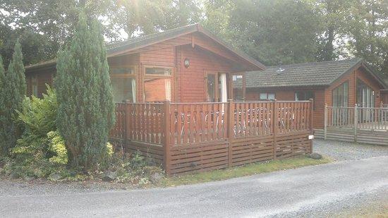 Fallbarrow Park: Our cabin