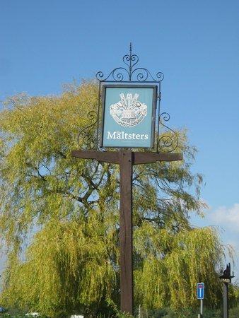 Maltsters Pub & Restaurant: sign