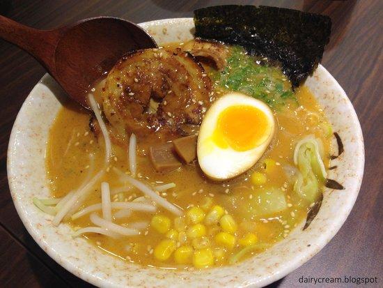Shin-Sapporo Ramen: food