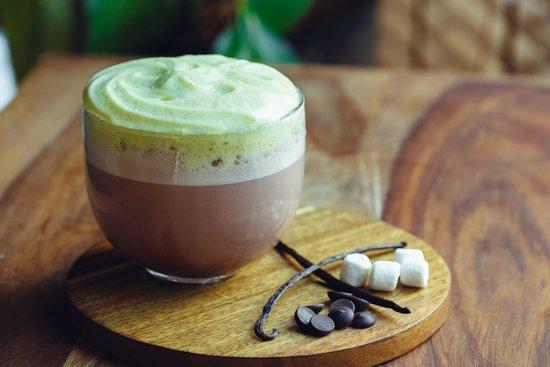 Barberry Club Restaurant: Какао с ванильной пеной