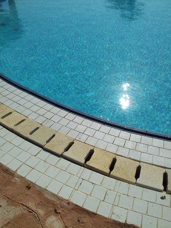 Solitaire Resort Marsa Alam: acqua al di sotto del livello normale