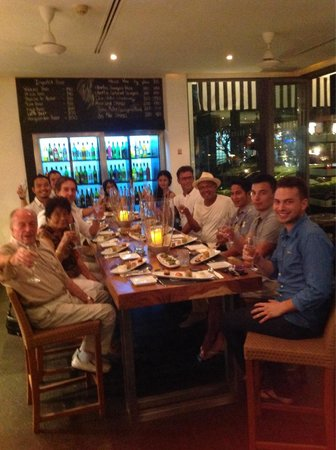 BYD Lofts Restaurant Bistro & Bar : Birtday party powered by a Chef Rory!