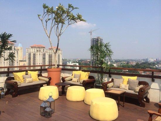 ذا هيرميتاج: The rooftop area! Will be great for sunset..