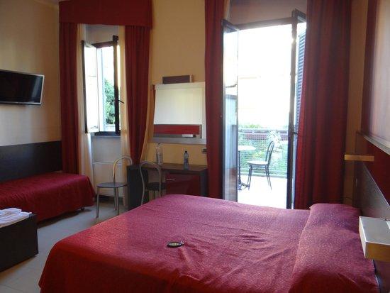 Hotel Ideale : La chambre