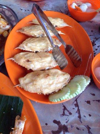 Restoran Tong Juan: Flower stuff crab