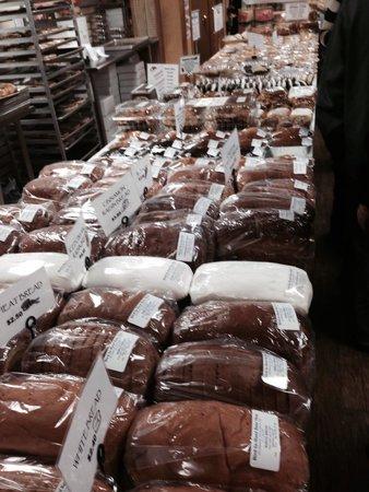 Bird In Hand Bake Shop: Inside breads