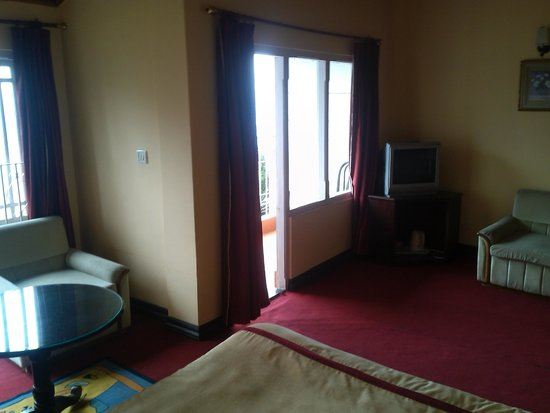 Krishna Residency: Attic Room