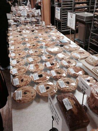 Bird-in-Hand Bake Shop: Pies galore. Yum