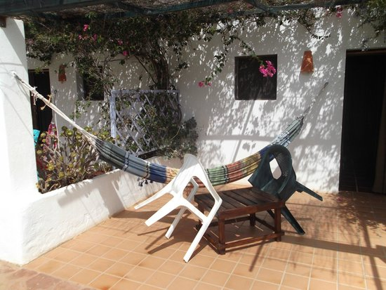 Casa Rural La Datilera: la entrada