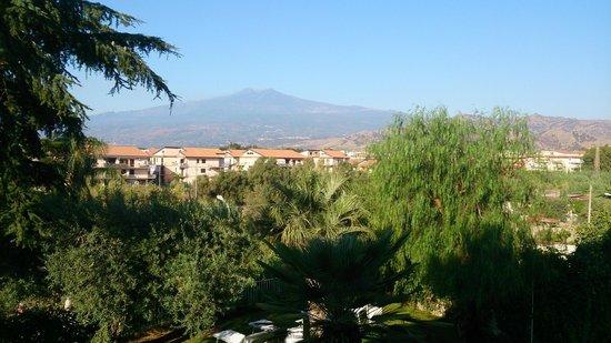 B&B Villa Accademia: vista desde la terraza en el desayuno