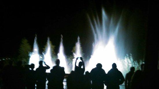 Center Parcs - Les Trois Forets: Fontaines symphonique