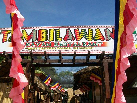 Tambilawan Kamayan Restaurant: front view