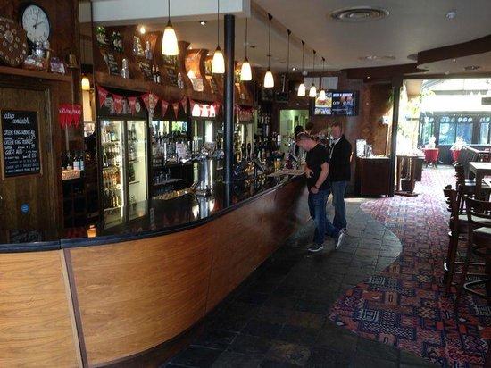 Sir Julian Huxley: The bar