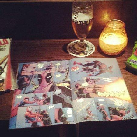 The Attic Bar: Comics