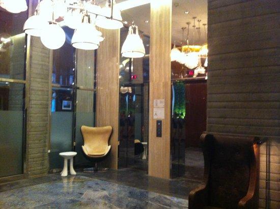 هوتل هوجو: zona ascensori