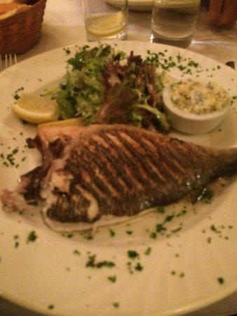 Chez Tonton: Lovely fresh fluffy Sea Bass