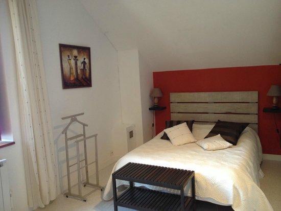 Le Moulin De Neuville: Suite familiale - Chambre lit double