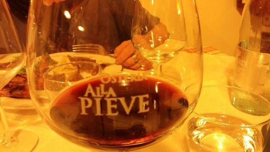 Osteria Alla Pieve: Ottima carta dei vini