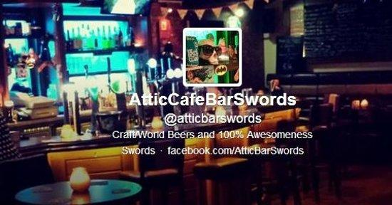 The Attic Bar: Twitter