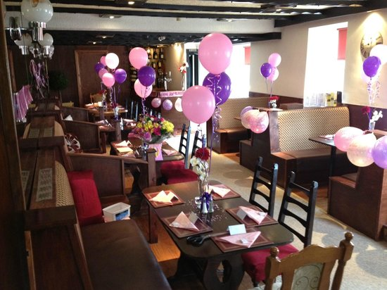 The Oasis Restaurant: Oasis available for parties