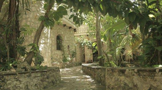 Guesthouse Las Piedras: jardin