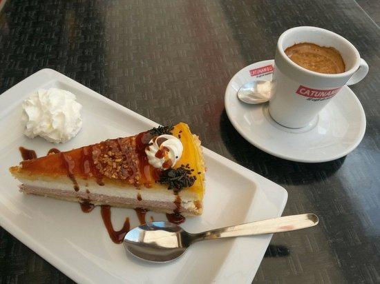 Restaurante Spala Duque: offerta café & torta € 3.50